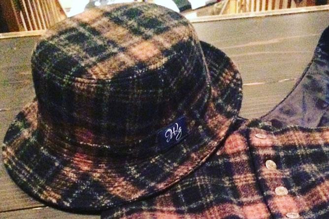 帽子と組み合わせ